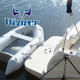 Snap Davits For Inflatable Boats