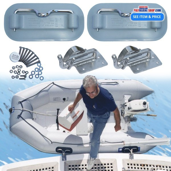 Snap Davit System for Inflatables, Weaver Snap Davits